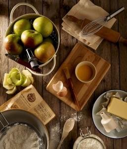 Apfelkuchen backen